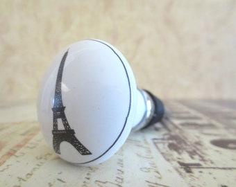 Wine Bottle Stopper - Paris Eiffel Tower Wine Stopper