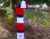 Reserved: St. Louis Cardinals Themed Hand Knit Scarf
