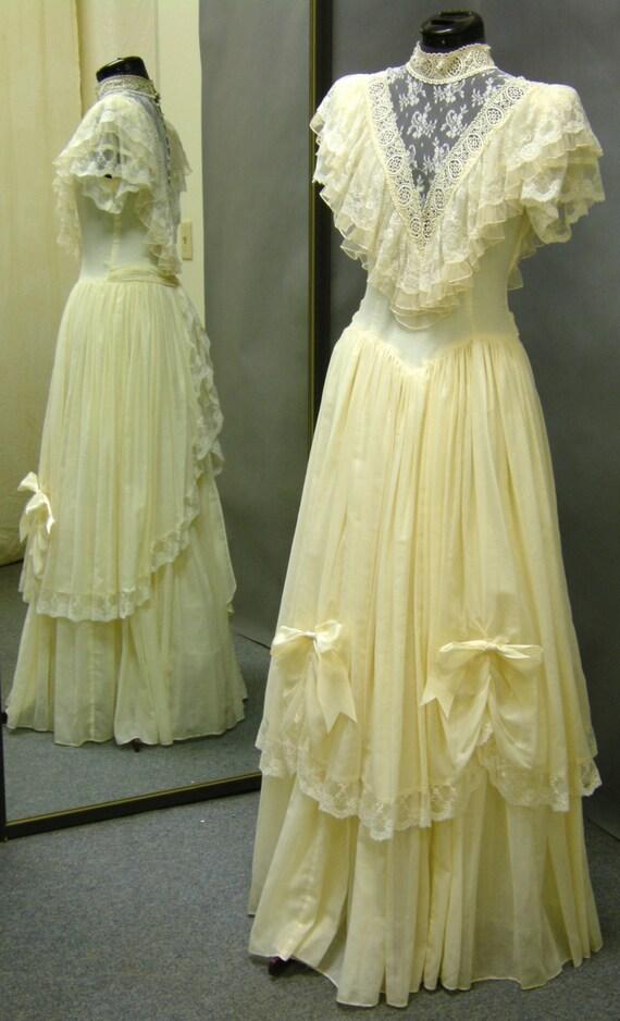 Prairie style wedding dresses