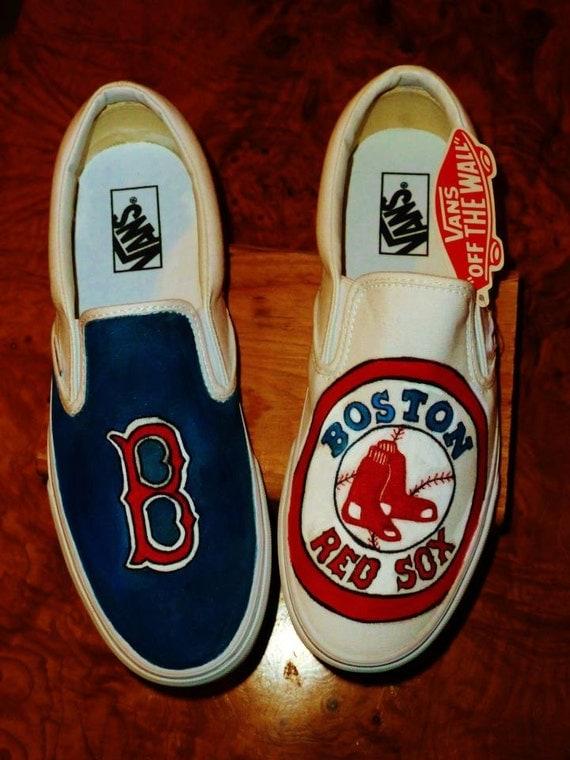 Vans Shoes Boston Red Sox