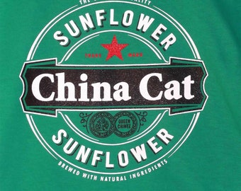 China Cat Sunflower Grateful Dead Tee - All Sizes S-3XL
