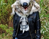 SALE Wolf Head Mask