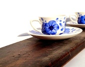 RESERVED FOR MARIE - Rare Vintage Fabrica de Loica de Sacavem Teacup and Saucer