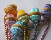 Sweet Cupcake Necklace-Pick your favorite
