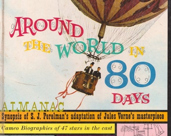 Michael Todd's Around the World in 80 Days Almanac edited by Art Cohn
