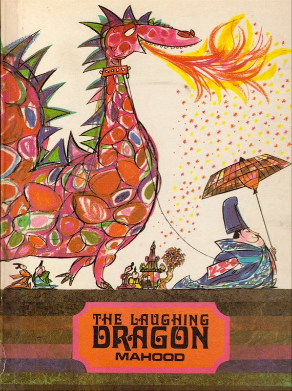 The Laughing Dragon - a vintage book by Kenneth Mahood