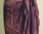 S/M Faux Sarong Skirt