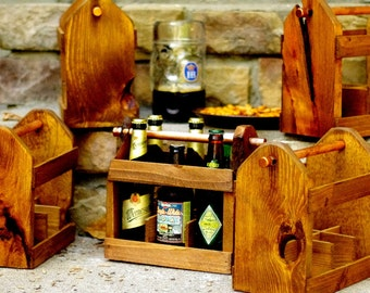 Beer Carrier - Qty 5 - Beer Tote - Beer Carton