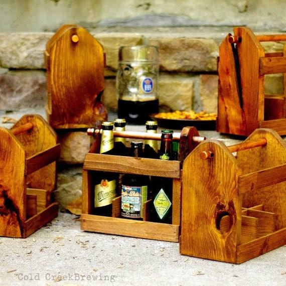 Beer Carrier - Qty 5 - Beer Tote - Beer Carton