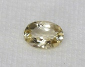 7X5 mm Citrine ~ Faceted Natural Oval Gemstone ~ Loose Citrine Stone ~ Birthstone ~ Untreated Citrine