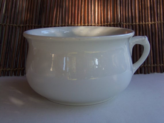 Antique Ironstone Chamber Pot J Amp G Meakin Sol Collection