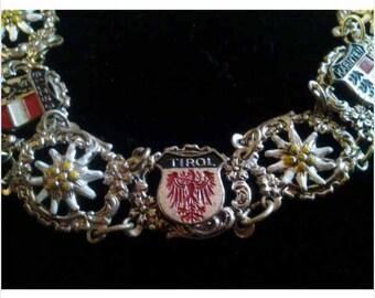Austria Themed Filigree Bracelet