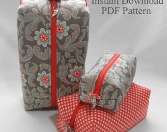 Box Bag Downloadable PDF Pattern
