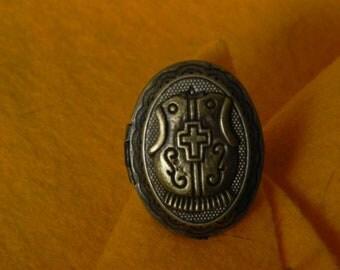 Knight in Shining Armor Locket Ring