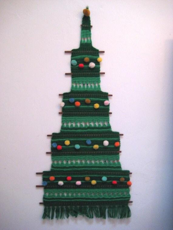 Christmas Tree Hanging On Wall