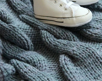 Pattern: Knitted Baby Blanket
