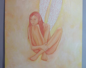 Fairy oil painting