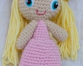 Customize Your Own Princess Doll (Crocheted Stuffed Toy)