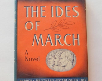 Vintage Thornton Wilder - The Ides of March - 1948 Book Club Edition