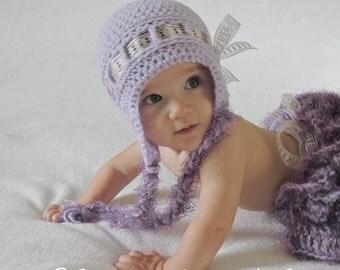 Crochet Tutu Cute Hat - 4 Sizes - PATTERN ONLY