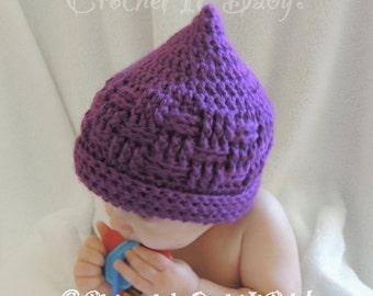 Crochet Basket Weave Hat (4 Sizes) - PATTERN ONLY