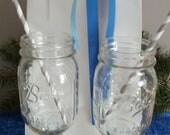 Red Neck Mason Jar Wine Glass
