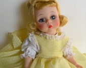 781 BK Amy, Madame Alexander, 8 inch, 1970, mint in box, no hangtag, stunning face color