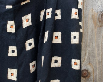 Vintage Geometric Print Pants
