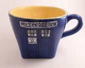 TARDIS Doctor Who Square Mug