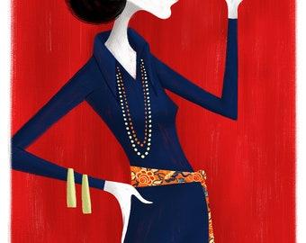 Diana Vreeland, 11x17 print