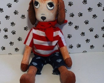 Handmade Cloth Doll - My Little Puppy, Scout