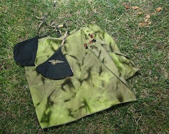 Green Half Sarong