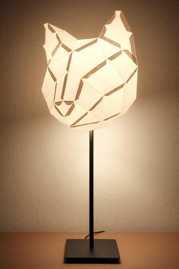 cat medium do it yourself paper lamp shade. Black Bedroom Furniture Sets. Home Design Ideas