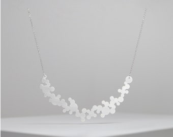 bubble stainless steel necklace