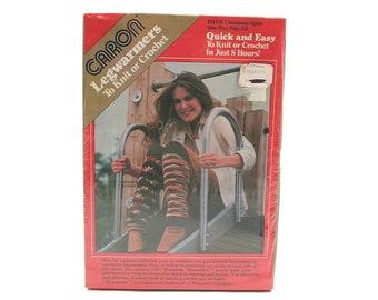 Caron Legwarmers Kit Cinnamon Spice 1982
