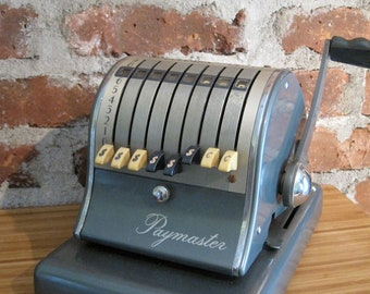 ON SALE!!!! Retro Paymaster