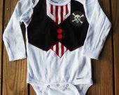 Baby boy Pirate onesie