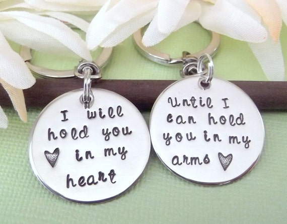 Long Distance Relationship Key Chains- Relationship Key Chains- Key Chain Sets