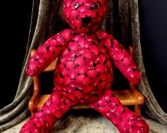 Cherry Delight Snuggle Bear
