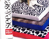 See and Sew Dog Bed Pattern Uncut