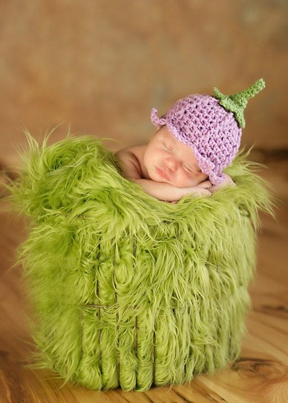 PATTERN Tulip Flower Hat - Crochet