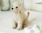 Miniature Labrador Retriever Needle Felting Kit