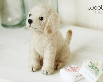 Miniature Labrador Retriever Needle Felting Kit