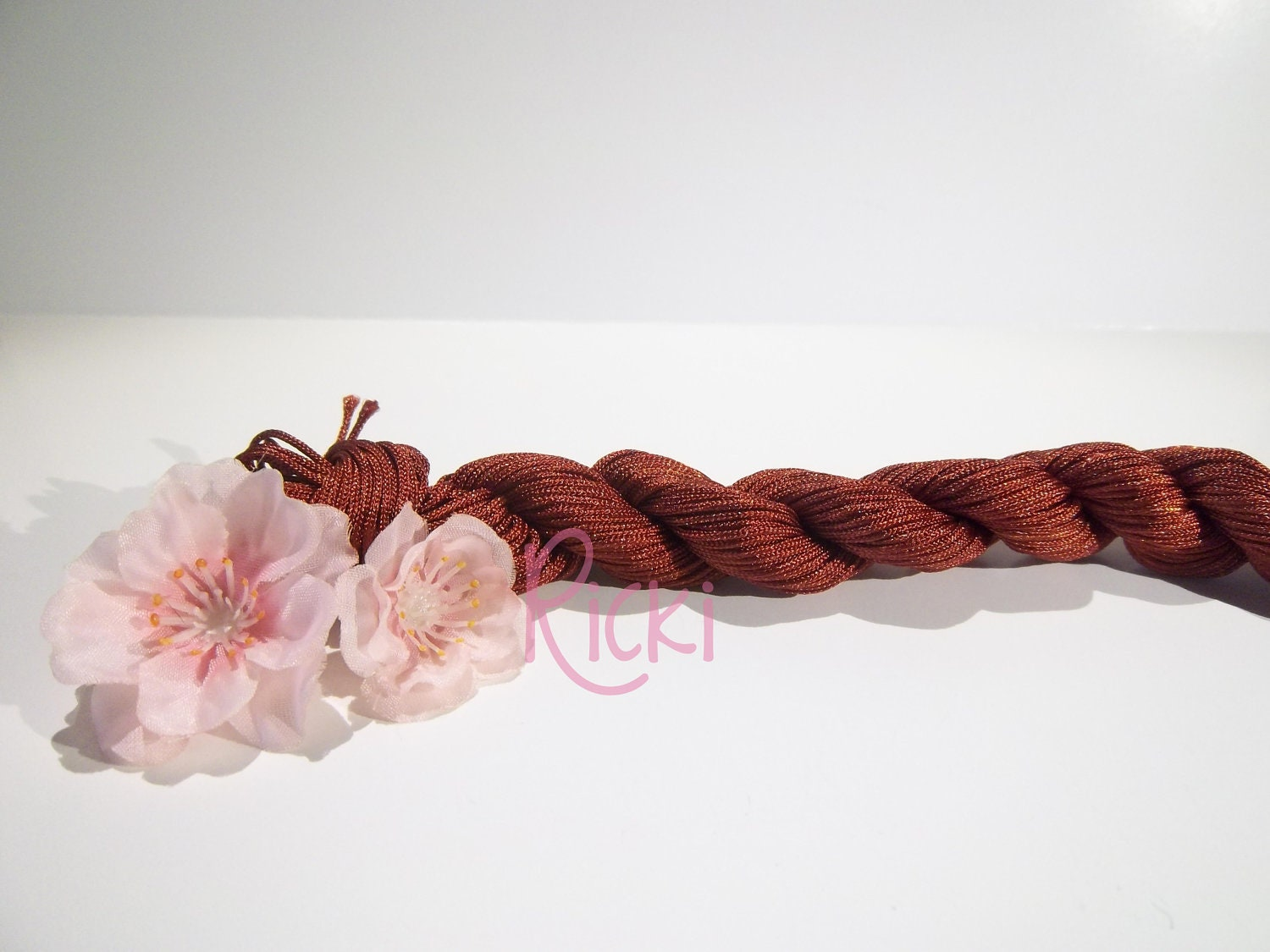 how to finish off macrame knotting