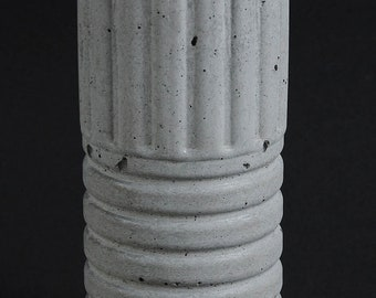 Cement Candle Holder, Future Relic #8