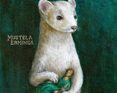 Ermine With A Lady Portrait fine art print