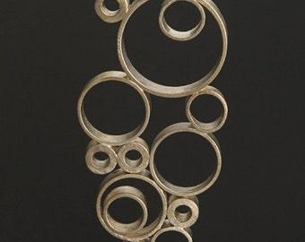 Sterling Silver Bubbles Pendant