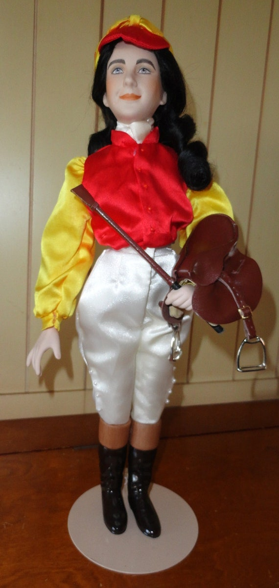 "Elizabeth Taylor ""National Velvet"" Doll FREE SHIPPING in USA"