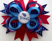 Tennessee Titans Hairbow