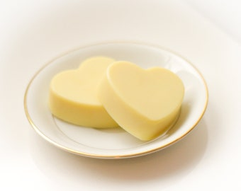 All Natural Massage Bar in Many Scents Including Vanilla - All Natural Cocoa Butter Lotion - Gift For Her Under 10